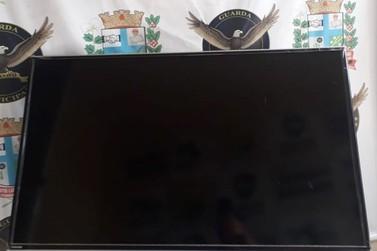 TV furtada em UBS é localizada pela Guarda Municipal