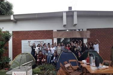Estudantes da Unespar de Paranavaí mantêm greve e ocupação do Campus
