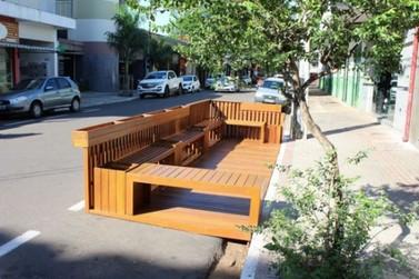 Vereadores aprovam em 1ª discussão lei que regulamenta a instalação de Parklets