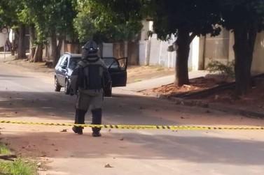 Bandidos não conseguiram levar dinheiro de agência bancária em Guairaçá