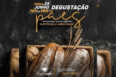 MM Café e Burger promove degustação de pães de fermentação natural orgânicos