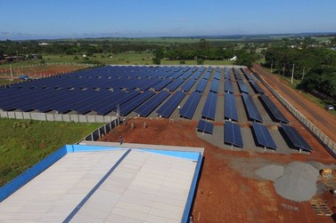 Usina Fotovoltaica de Paranavaí inaugura na próxima sexta-feira (28)