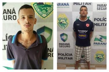 Dois foragidos da cadeia de Nova Esperança são recapturados em Paranavaí