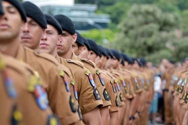 Inscrições para o concurso da Polícia Militar do Paraná já podem ser feitas