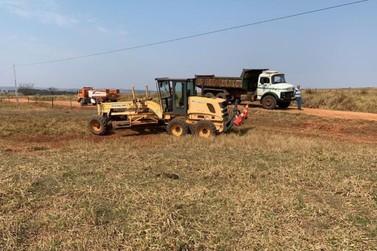 Máquina agrícola teria atropelado condutor após mau funcionamento