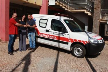 Paranavaí ganha nova ambulância para transporte de pacientes