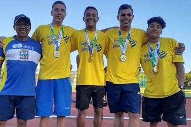 Equipe de atletismo de Paranavaí quebra quatro recordes nos Jojups