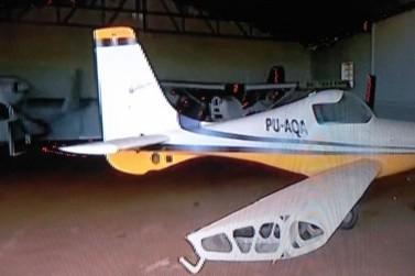 Aeronave é furtada em distrito de Maringá