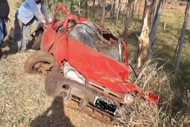 Dois acidentes são registrados na BR-376, próximo ao trevo de Guairaçá