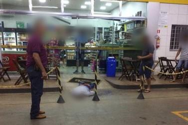 Ladrão é surpreendido por policial de folga em assalto a posto de combustíveis