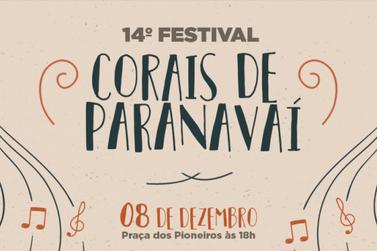 Sete grupos vão participar do 14º Festival de Corais de Paranavaí