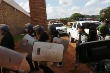 Após fuga em massa de presos, fronteira com Paraguai tem policiamento reforçado