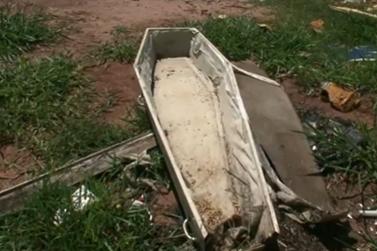 Caixão encontrado no Jardim Morumbi foi recolhido e encaminhado ao cemitério