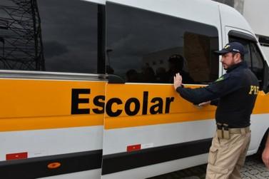 PRF orienta prefeituras sobre fiscalização do transporte escolar