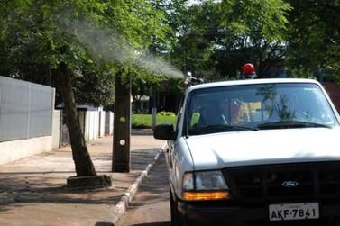 Saiba porquê o fumacê não está sendo usado em Paranavaí