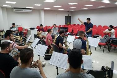 Orquestra de Paranavaí faz primeiro ensaio de 2020