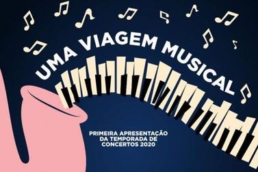 Orquestra Municipal faz primeira apresentação neste sábado (29)