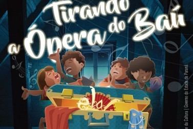 "Paranavaí recebe espetáculo gratuito ""Tirando a Ópera do Baú"" neste sábado (22)"