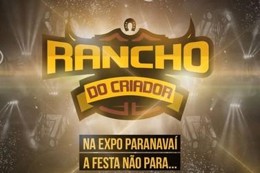 ExpoParanavaí terá cinco dias de balada no Rancho do Criador