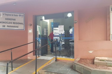 Hemonúcleo de Paranavaí pede doações de sangue mesmo em tempos de pandemia