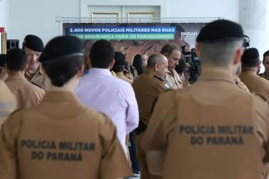 Provas para PM do Paraná devem ocorrer ainda neste semestre