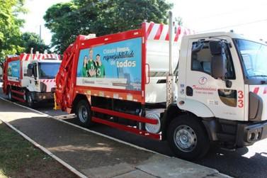 Serviço de coleta de lixo continua normalmente em Paranavaí