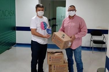 Empresa pecuária doa 30 mil luvas e 500 máscaras para Santa Casa
