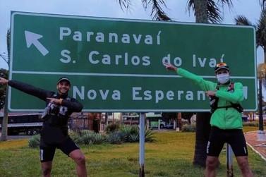 Para arrecadar cestas básicas, maratonistas correrão 75km de Paranavaí a Maringá