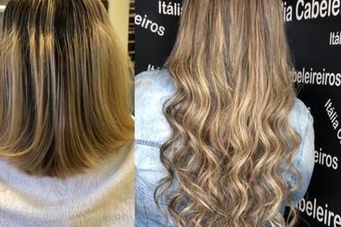 Tradicional e completo, Itália Cabeleireiros é referência também em mega hair