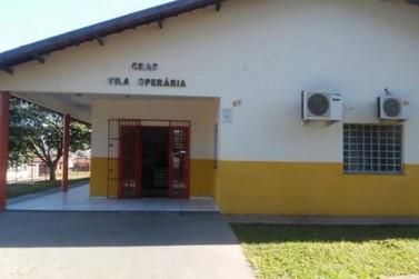 Atendimento no Cras Vila Operária continua suspenso