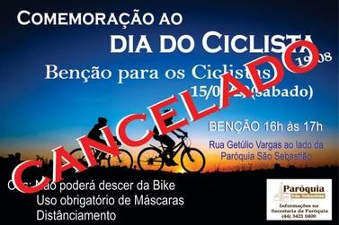 Bênção dos ciclistas é cancelada em Paranavaí