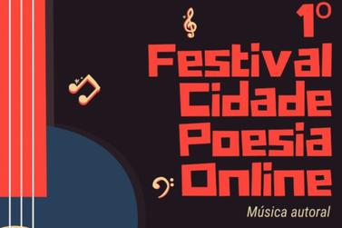 Festival Cidade Poesia Online será realizado neste sábado (22)