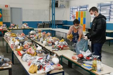 Kits de alimentação da rede municipal de educação serão entregues nesta semana
