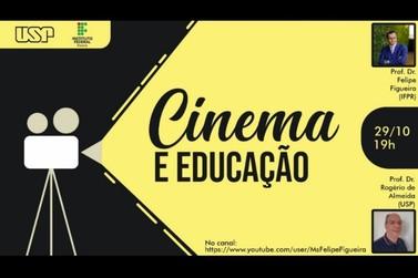 IFPR Paranavaí promove live sobre cinema e educação nesta quinta-feira (29)