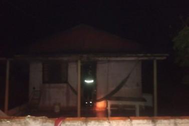 Incêndio atinge casa de alvenaria em Nova Londrina