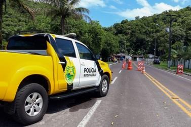 Polícia Rodoviária Estadual intensifica as ações durante o feriado prolongado