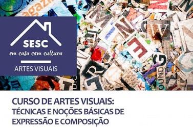 Sesc Paranavaí abre inscrições para curso gratuito de Artes Visuais
