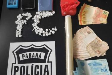 Menor é apreendido com mais de 70 porções de cocaína em apartamento no Jd. Ipê