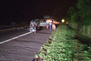 Motociclista morre e outras quatro pessoas ficam feridas em colisão na BR-376