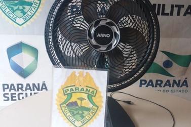 Mulher tem ventilador furtado no Jardim Ipê