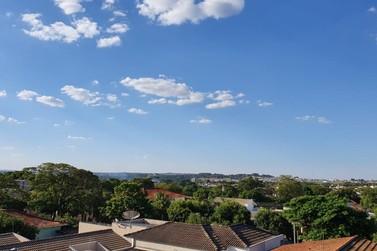 Tempo estável e temperaturas altas continuam em Paranavaí nos próximos dias