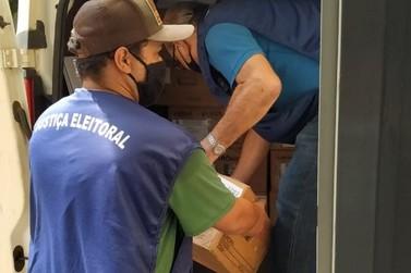 Urnas eletrônicas começam a ser entregues em Paranavaí