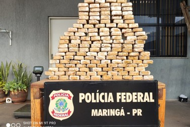 Polícia Federal apreende mais de 150 quilos de crack escondidos em caminhão