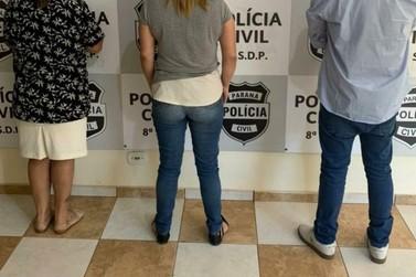 Três estelionatários de Londrina são presos tentando aplicar golpes em Paranavaí