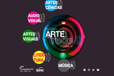 Música, teatro, cinema e literatura: Sesc PR lança Festival arte em rede
