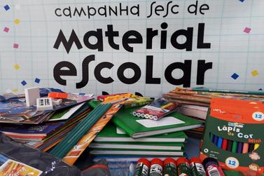 Sesc Paranavaí realiza drive-thru para arrecadação de materiais escolares