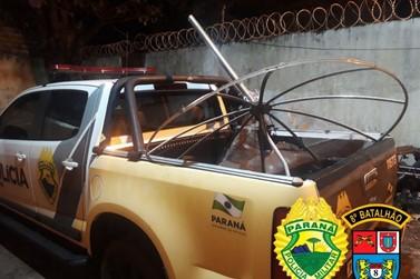 Após furtar bebidas e carregar em carriola, homem é preso em Amaporã