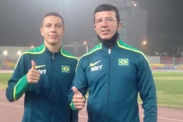 Atleta de Paranavaí conquista duas medalhas de ouro em campeonato no Peru
