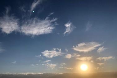 Frio perde intensidade e tardes devem ser mais quentes em Paranavaí