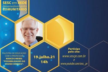 "Live do Sesc PR vai abordar ""As possibilidades do ensino híbrido"""